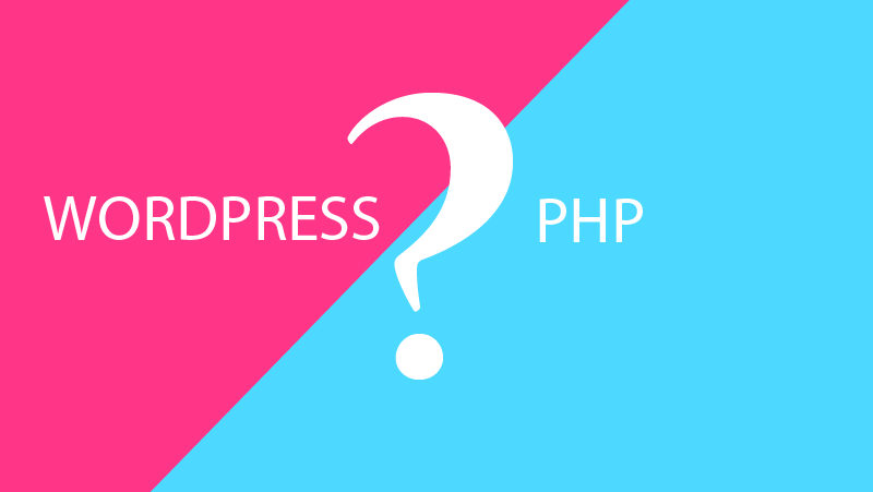 web wordpress hay php thuan