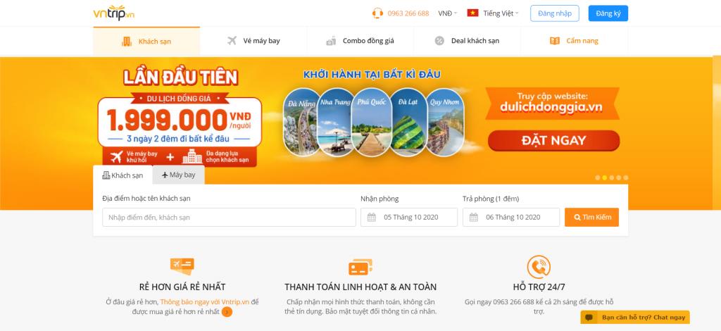 thiết kế web bán tour du lịch